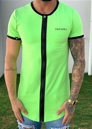Camiseta Longline Sioux Neon - Totanka