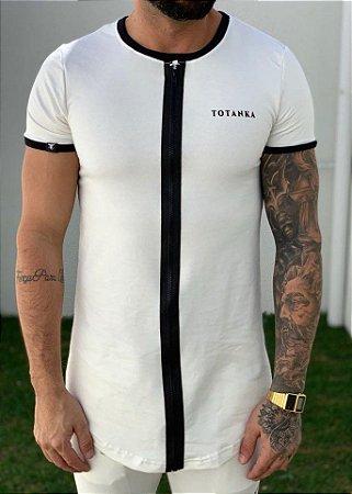 Camiseta Longline Sioux OFF WHITE - Totanka