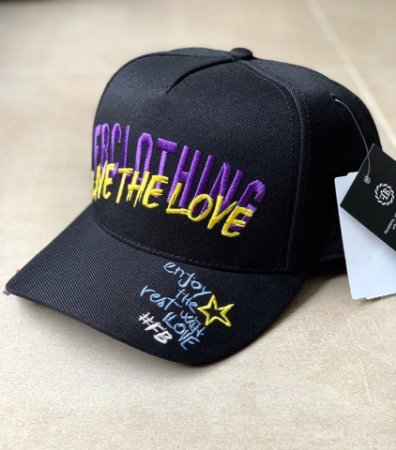 Boné Snapback Glamour Black - FB Exclusive Clothing