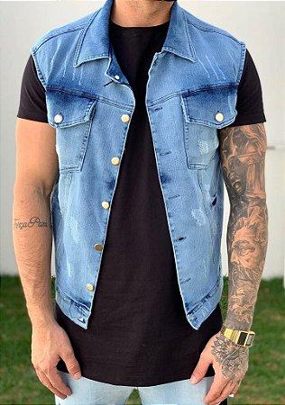 Colete Jeans Blue - Exalt Urban
