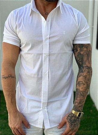 Camisa Manga Curta White - Grace