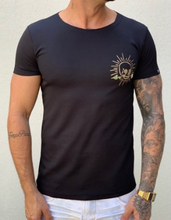 T- Shirt  Sun Skull - Totanka