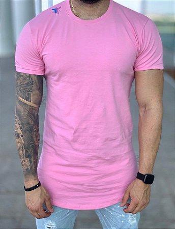 Camiseta Longline Rosa Degree - Totanka
