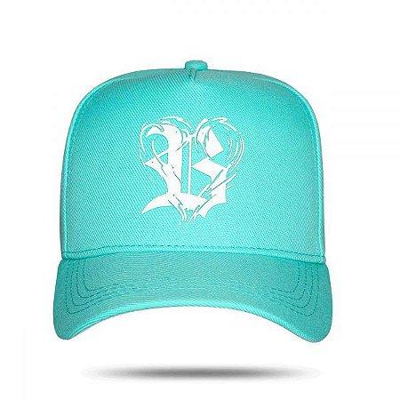 Boné Snapback Logo Heart Green Water - BLCK