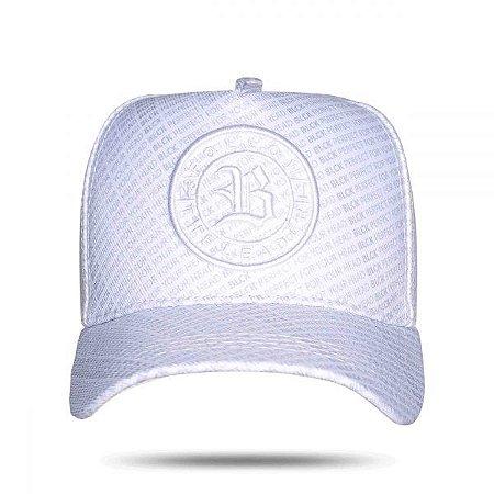 Boné Snapback Full White - BLCK