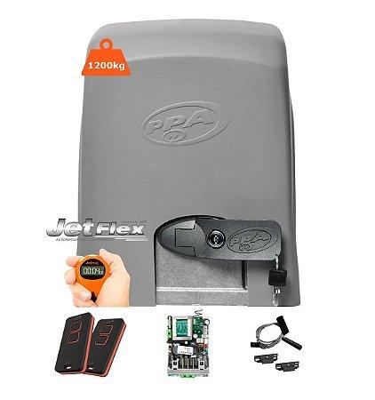 Motor de Portão Automatizador DZ 1500 IND Jet Flex 1 HP Central Híbrida Bivolt - PPA