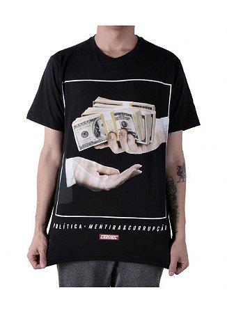 Camiseta Chronic Dinheiro, Política e Corrupção