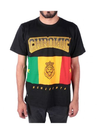 Camiseta Chronic Reggae Lion