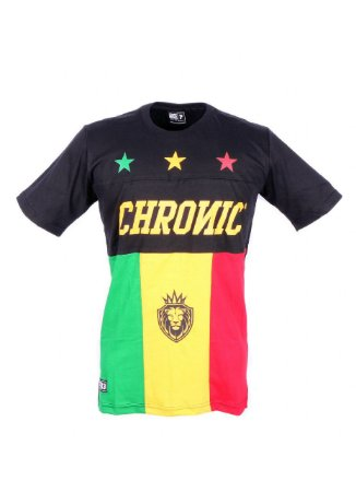 Camiseta Chronic Reggae Star