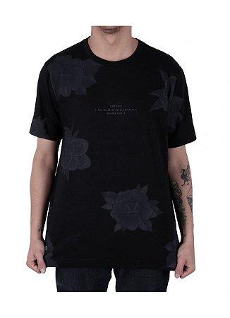 Camiseta Chronic Flor Preta