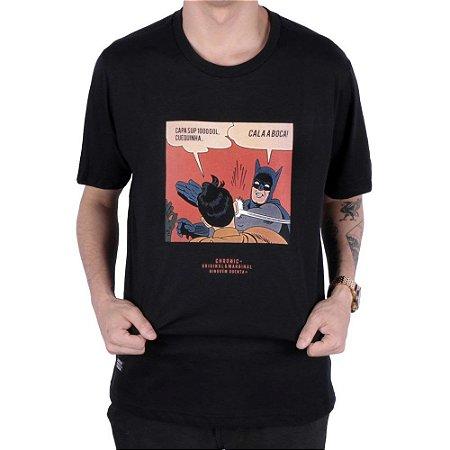 Camiseta Chronic Cala a Boca! Batman e Robin