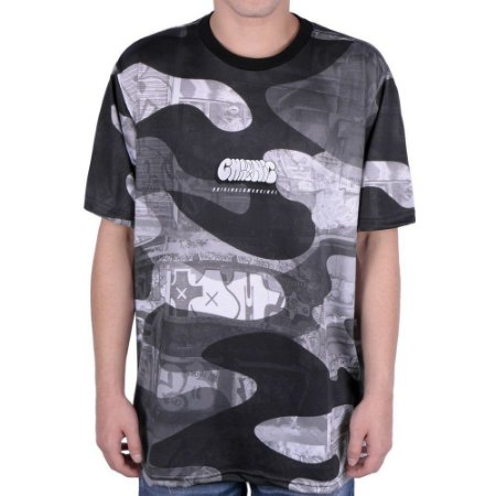 Camiseta Chronic Graffite Camu
