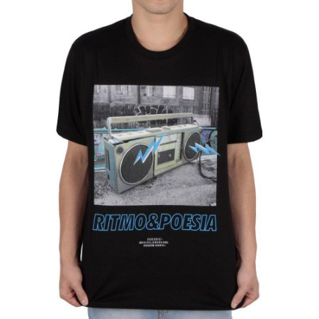 Camiseta Chronic Ritmo&Poesia