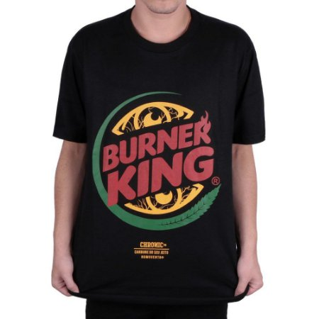 Camiseta Chronic Burner King