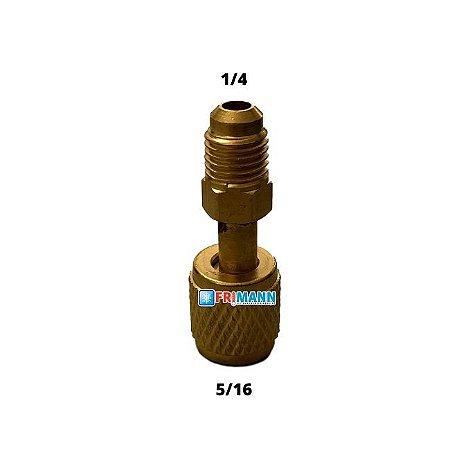 Adaptador para mangueira de Manifold R22 para uso no  R410a