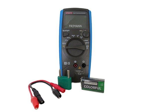 Capacímetro Digital Refrigeração e Ar Condicionado