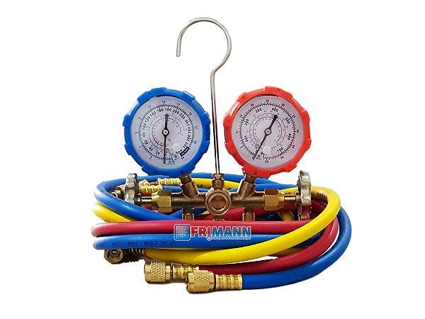 Manifold Ar Condicionado Split R22 / R407C / R410A
