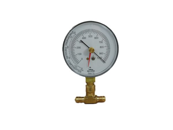 Vacuometro Analogico V80 Para Bomba De Vacuo/refrigeração