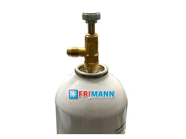Válvula Perfuradora Para Latas Descartaveis R134 Mp39 R 22 R600