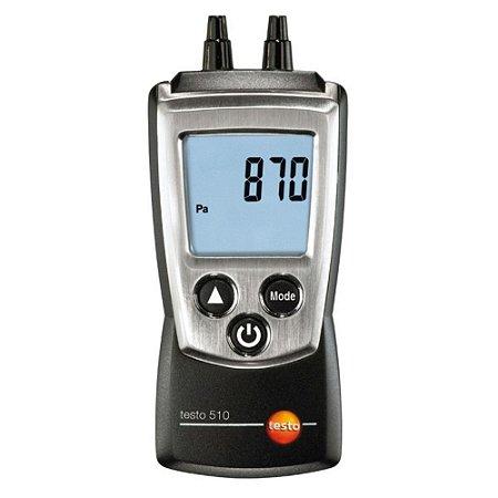 Manômetro Pressão Diferencial 0 A 100hpa 510 Testo