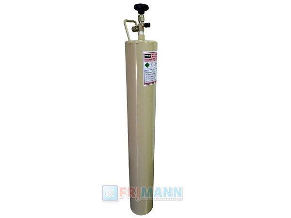 Cilindro Garrafa Para Transporte De Gás Refrigerante 5 Kg