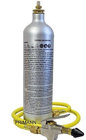 Garrafa Injetora 141b Para Limpeza Ar Condicionado Mastercool