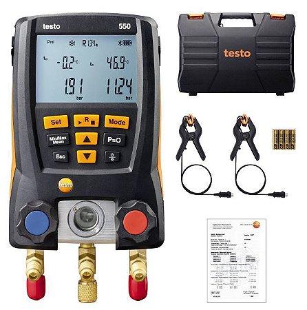Manifold Digital 550-2 + Vacuômetro Testo 552 Bluetooth