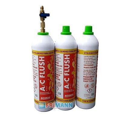 Kit Flush Limpeza Ar Condicionado Refrigeração Descartável