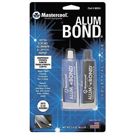 Solda Fria Epoxi Mastercool Alum Bond Tubo Alumínio 56,8 Grs