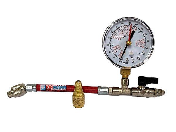 Manômetro Nitrogênio Alta Pressão Refrigeração