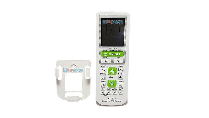 Controle Remoto Ar Condici 99% Universal Kt 628 C/ Suporte