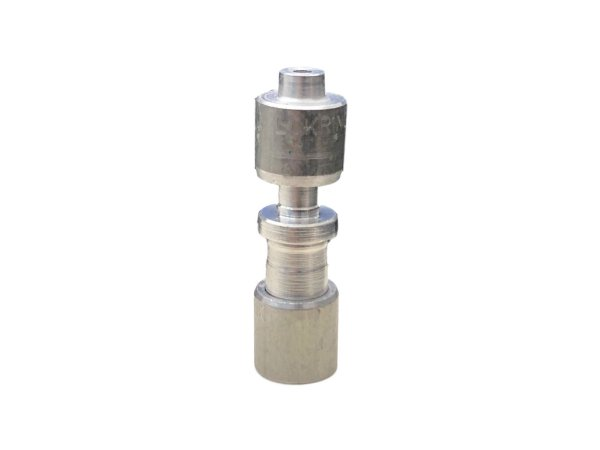 Junta União Redutora Lokring De Aluminio Medidas 6 X 2 Mm