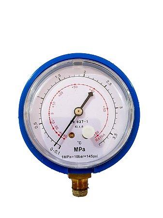 Manômetro Refrigeração Baixa Pressão R410a