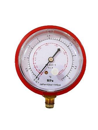 Manômetro Refrigeracão Alta Pressão R410a