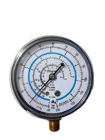 Manômetro Baixa R22 R12 R407c R134a