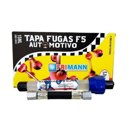 Tapa Fugas F5 Super Para Ar Condicionado Automotivo 15ml
