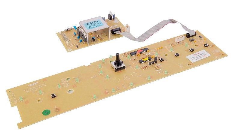 Placa compatível lavadora BWL11 c/potência Biv.Versão 3/ Interface W10356413 CP1044