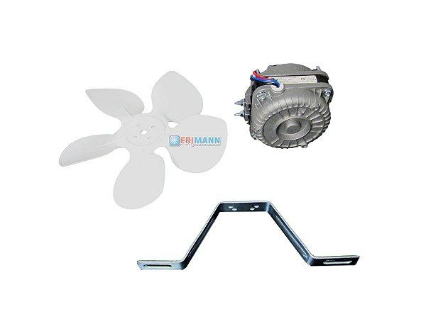 Micro Motor Ventilador Para Freezer 1/40 Hp Balcão Bivolt