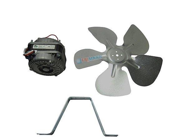 Micro Motor Ventilador Para Freezer 1/25 Hp Balcão Bivolt