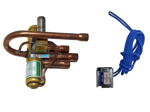 Válvula Reversora Ar Condicionado Split E Acj 220v Dsf-4a