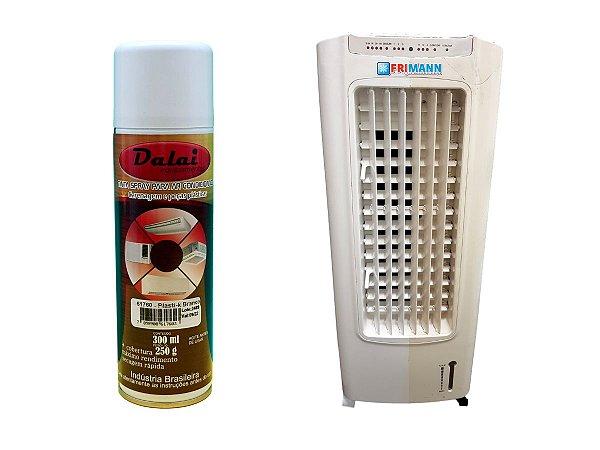 Tinta Spray Branco Para Ar Condicionado E Carenagens
