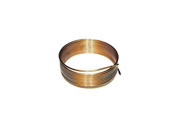 Tubo Capilar Cobre Para Refrigeração 0,031 mm Rolo 3m