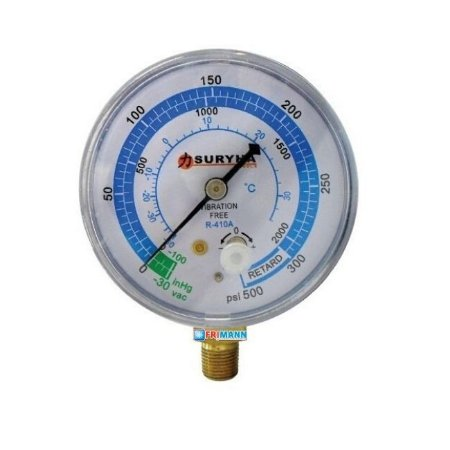 Manômetro Refrigeração Baixa Pressão R410a Suryha