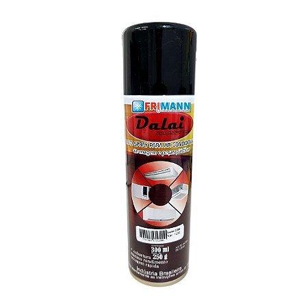 Tinta Spray Preto Para Ar Condicionado e Carenagens
