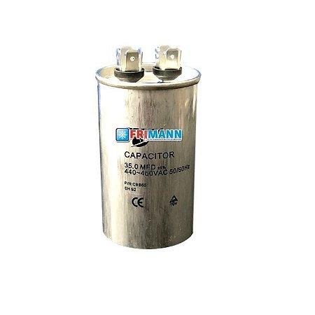Capacitor Ar condicionado Refrigeração 35.0 MFD  450 Vac