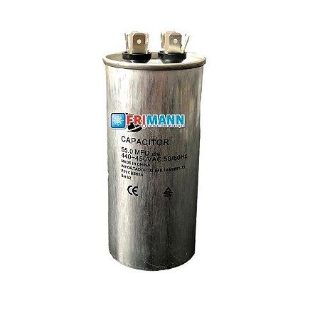 Capacitor Ar condicionado Refrigeração 55.0 MFD  450 Vac
