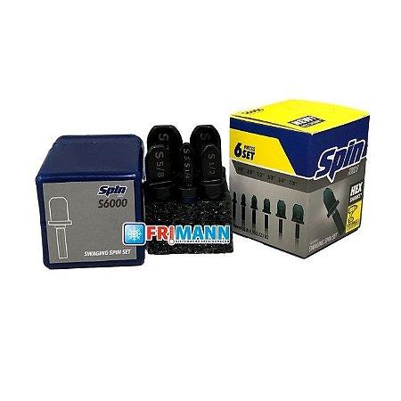 KIT ALARGADOR TUBOS SPIN S6000 HEX - BR 6PCS