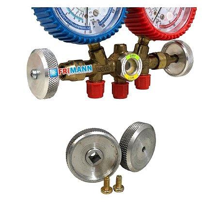 Manopla Volante para Manifolds Analógicos de Refrigeração
