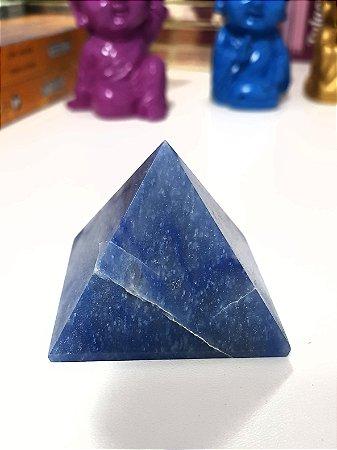 Pirâmide de Quartzo Azul