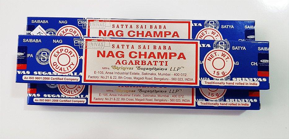 Incenso Satya Nag Champa Sai Baba